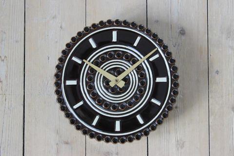 GUSTAVSBERG(グスタフスベリ)B.L. Sundell 陶器の時計(スタジオ作品)