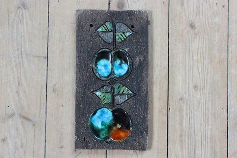 Tilgmans(ティルグマンス)リンゴの陶板(グリーン/オレンジ)
