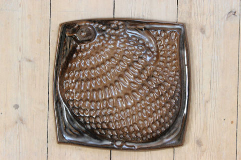 GABRIEL(ガブリエル)ホロホロ鳥の陶板