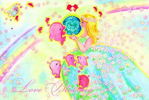ポストカード☆Earth Angel
