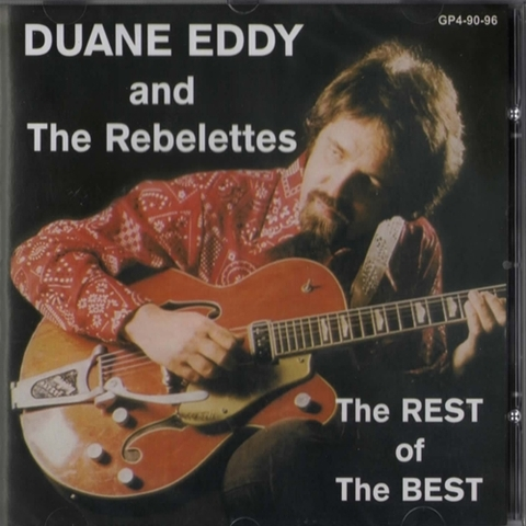 DUANE EDDY & THE REBELETTES / REST OF THE BEST (CD)