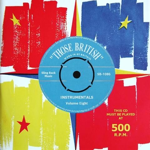 V.A / THOSE BRITISH INSTRUMENTALS VOL.8 (CD)