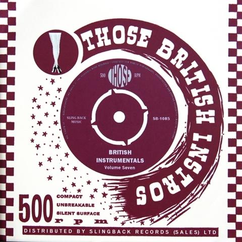 V.A / THOSE BRITISH INSTRUMENTALS VOL.7 (CD)