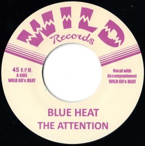 "ATTENTION / BLUE HEAT (7"")"