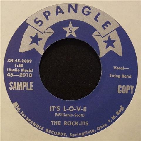 """ROCK-ITS / IT'S LOVE (7"""")"""