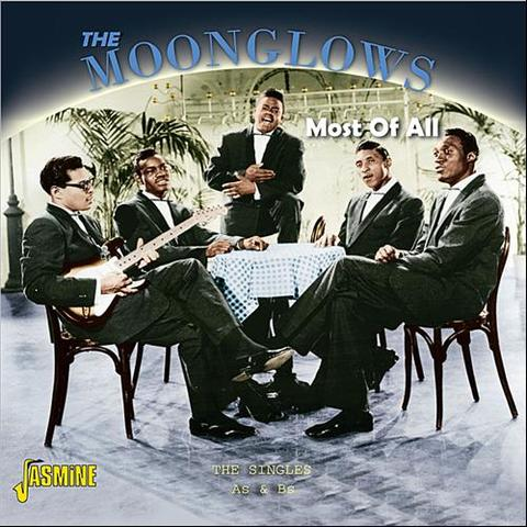 MOONGLOWS / MOST OF ALL - THE SINGLES As & Bs.- (2CD)