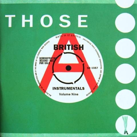 V.A / THOSE BRITISH INSTRUMENTALS VOL.9 (CD)