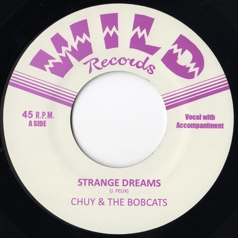 "CHUY & THE BOBCATS / STRANGE DREAMS (7"")"