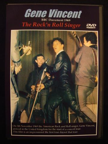 GENE VINCENT THE ROCK'N'ROLL SINGER