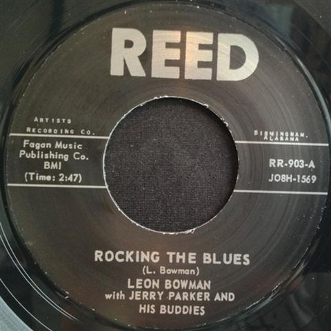 "LEON BOWMAN / ROCKING THE BLUES (7"")"