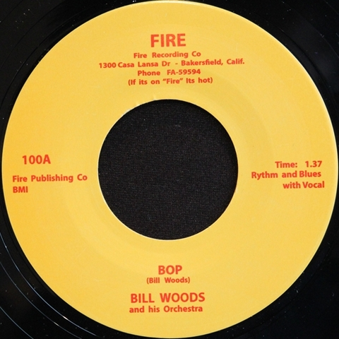 "BILL WOODS / BOP (7"")"