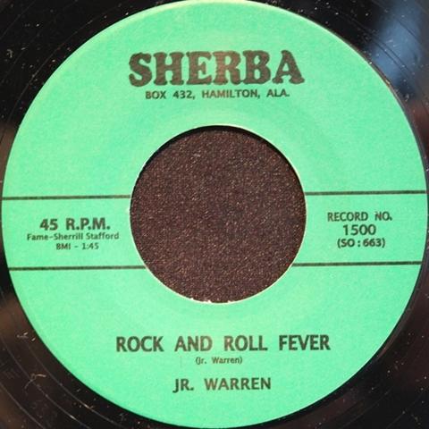 """JR. WARREN / ROCK AND ROLL FEVER (7"""")"""