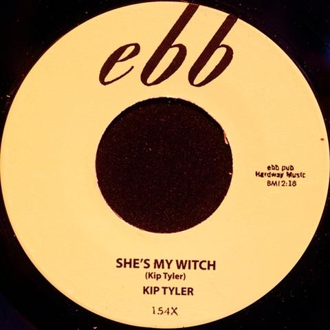 "KIP TYLER / SHE'S MY WITCH (7"")"