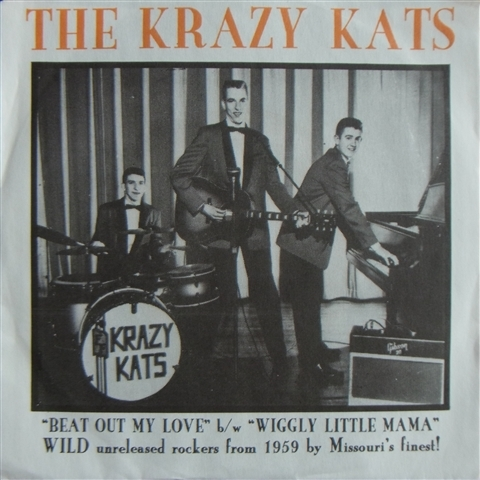 """KRAZY KATS / BEAT OUT MY LOVE (7"""")"""