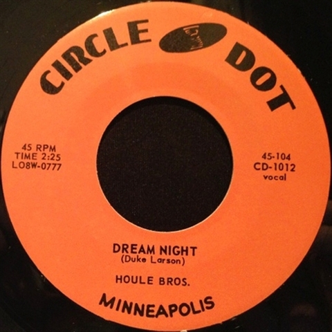 """HOULE BROTHERS / DREAM NIGHT (7"""")"""