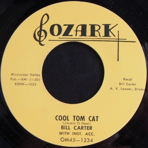 "BILL CARTER / COOL TOM CAT (7"")"