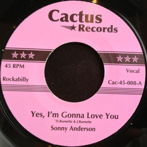 """SONNY ANDERSON / YES, I'M GONNA LOVE YOU (7"""")"""