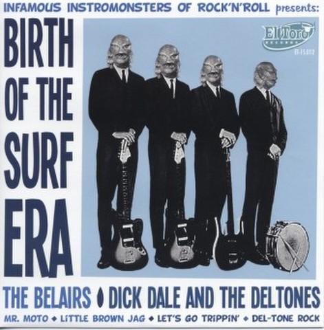 "V.A / BIRTH OF THE SURF ERA (7"")"