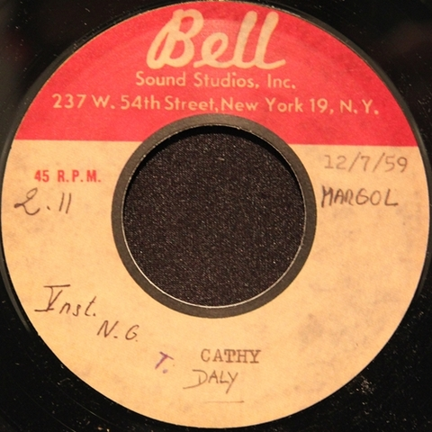"""TERRY DALY / CATHY (7"""")"""