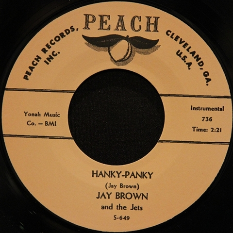 "JAY BROWN / HANKY PANKY (7"")"