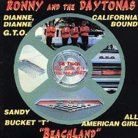 RONNY & THE DAYTONAS / BEACH LAND (CD)