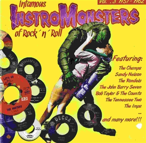 V.A / INFAMOUS INSTRO-MONSTERS OF ROCK'N'ROLL VOL.3 (CD)