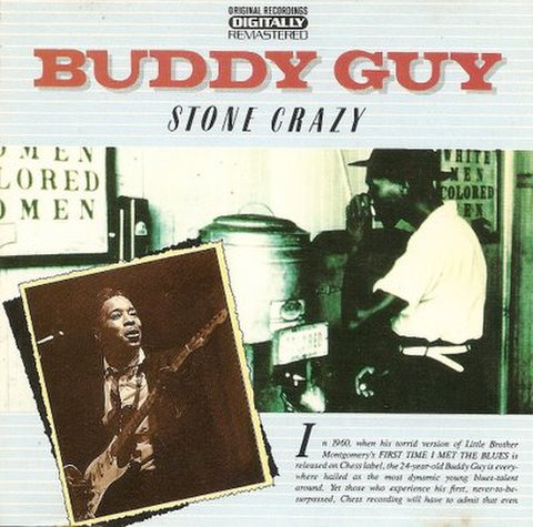 BUDDY GUY / STONE CRAZY (CD)