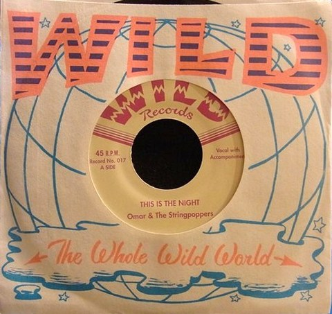 """OMAR & THE STRINGPOPPERS / THIS IS THE NIGHT (7"""")"""