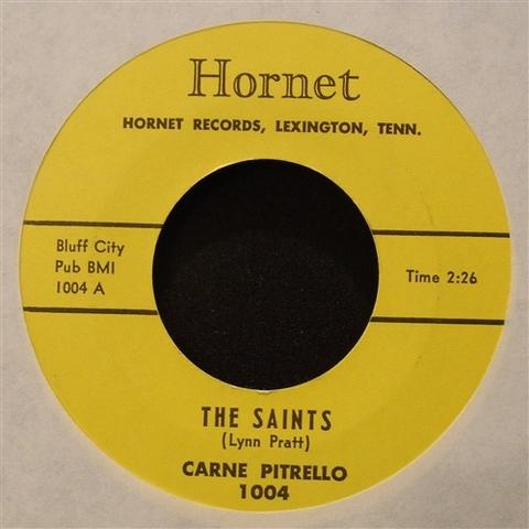 """CARNE PITRELLO / THE SAINTS (7"""")"""