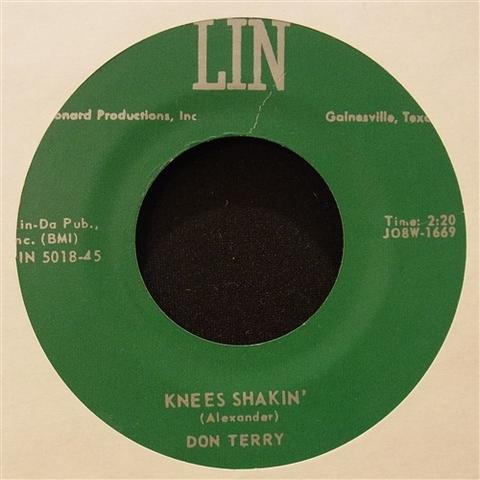 "DON TERRY / KNEES SHAKIN' (7"")"
