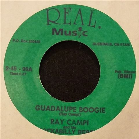 """RAY CAMPI / GUADALUPE BOOGIE (7"""")"""