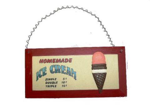 アイスクリーム 壁掛け
