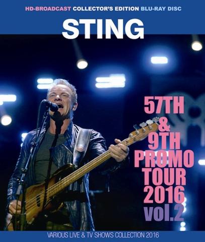 STING/(BD-R)57TH&9TH PROMO TOUR 2016 VOL.2[21801]