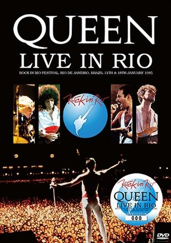 QUEEN/(DVD)LIVE IN RIO[21805]