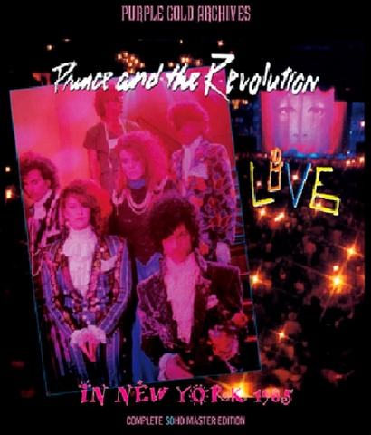 PRINCE/(BD-R)LIVE IN NEW YORK 1985[1215]