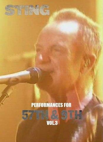 STING/(DVD-R)PERFORMANCES FOR 57TH & 9TH VOL.3[21812]