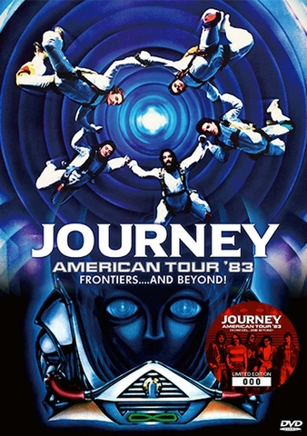 JOURNEY/(DVD+DVD-R)AMERICAN TOUR '83 : FRONTIERS....AND BEYOND![21802]