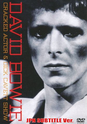 DAVID BOWIE/(DVD-R)CRACKED ACTOR JPN SUBTITLE Ver.[1213]