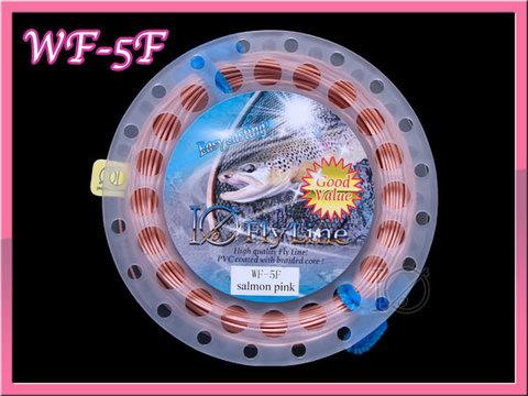 【イオ】フライライン WF-5F salmon pink フローティング