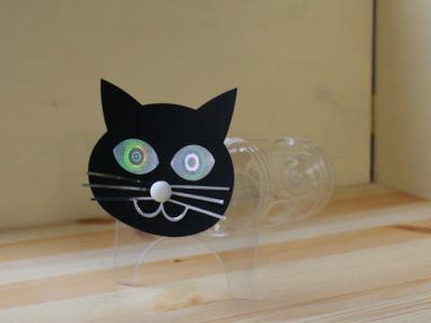 カラスよけ「黒猫スキャット」