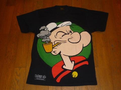 ポパイのTシャツ