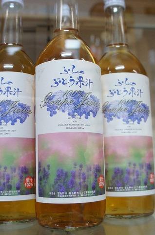 ふらのぶどう果汁(白)720ml