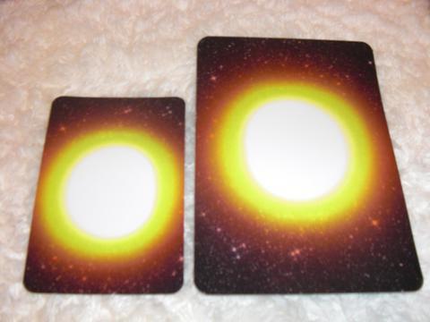 大小2枚セット 夢カード~ありがとsun~