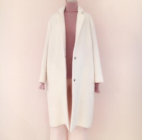Mohair Tailored Coat