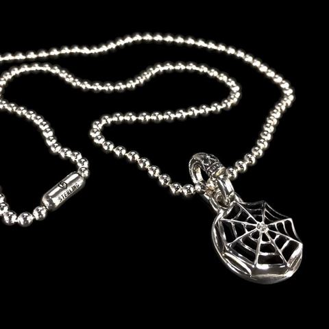 BALL CHAIN [SPIDER WEB] w/DIAMOND