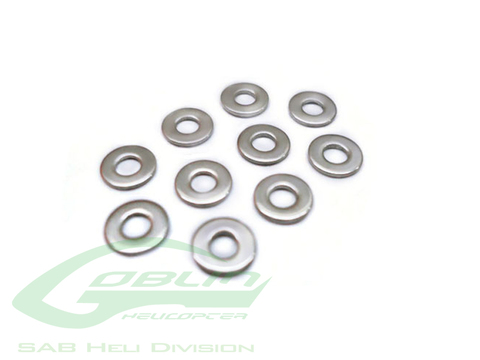 HC172-S - Washer Ø2,5 x Ø4 x 0,3(10pcs) - Goblin 500/570