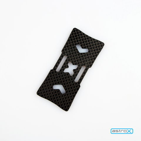 Carbon fiber battery protector plate
