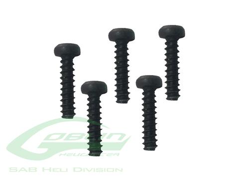 Self Tapping screws M3x10 (5pcs) - Goblin 500/570 [HC136-S]