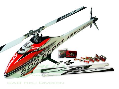 ゴブリン500スポ-ツ コンボキット ホワイトSG509