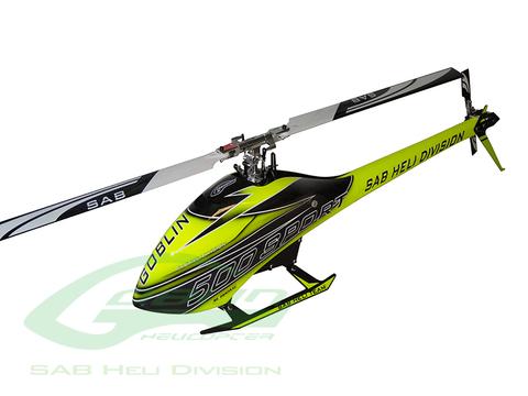 SAB Goblin 500 Sport Carbon/Yellow SG512